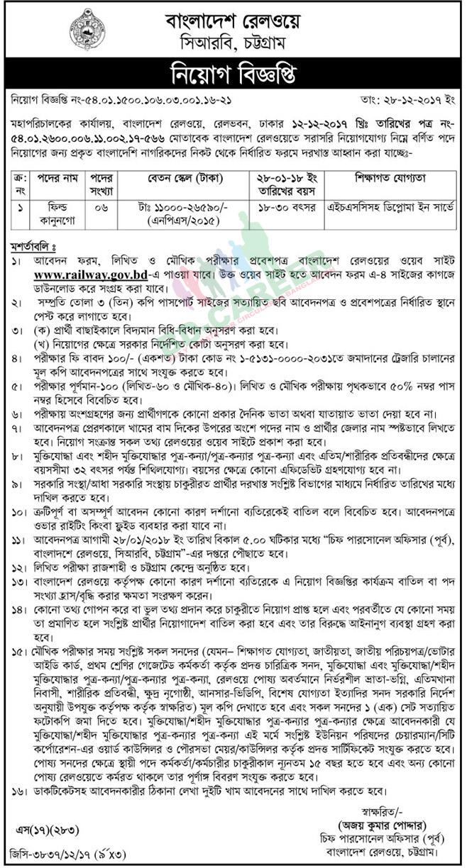 desh-railway-job-circular-2017 Bd Govt Job Form Download on